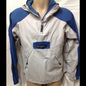 Women's size Medium COLUMBIA windbreaker pullover